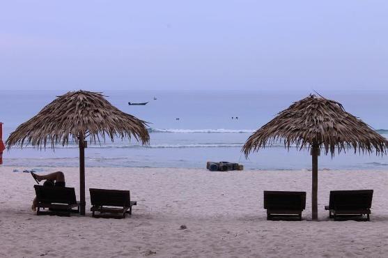 Auch schönen Pauschalurlaub an Strand und Meer kann man beim Reiseveranstalter TUI buchen.